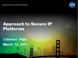 Approach to Secure IP Platforms