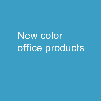 New Color Office Products