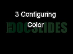 3 Configuring Color & Text With CSS