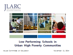 Low Performing Schools in