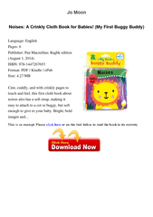 Jo Moon Noises A Crinkly Cloth Book for Babies My Firs PowerPoint PPT Presentation