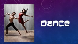 DANCE Elements of dance They are the