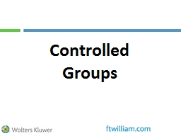 Controlled Groups Impact?