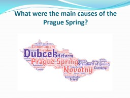 What was the impact of the USSR Invasion of Czechoslovakia in 1968? PowerPoint PPT Presentation