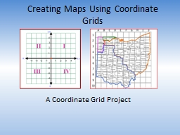 Creating Maps Using Coordinate Grids