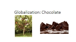 Globalization: Chocolate