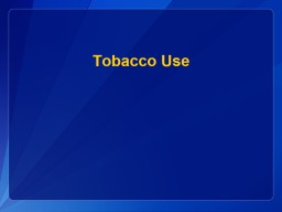 Tobacco Use Percentage of High School Students Who Ever Tried Cigarette Smoking,* by Sex,