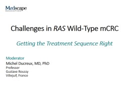 Challenges in  RAS  Wild-Type mCRC