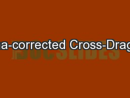 Coma-corrected Cross-Dragone