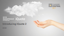 Introducing iQuote 2 2016