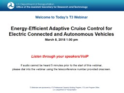 Energy-Efficient Adaptive Cruise Control for Electric Connected and Autonomous Vehicles
