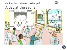 A day at the sauna How does the body react to change?