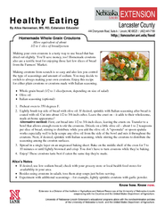 Healthy Eating By Alice Henneman MS RD Extension Educa