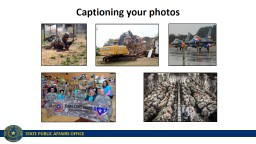 Captioning your photos Resources
