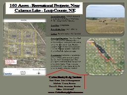 Legal  Description:     NW1/4 Section 8, Township 22N, Range 17W of the 6