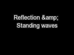 Reflection & Standing waves