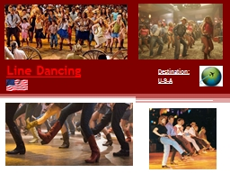 Line Dancing Destination:
