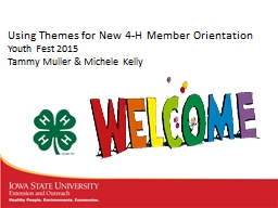 Using Themes for New 4-H