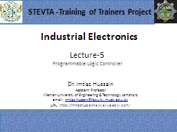 Industrial  Electronics 1