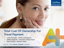 Total Cost Of Ownership For Travel Payment