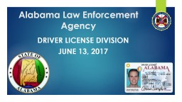 Alabama Law Enforcement Agency