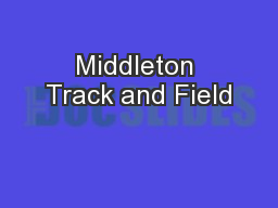 Middleton Track and Field
