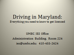 Driving in Maryland: Everything you need to know to get licensed