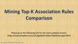 Mining Top-K Association Rules