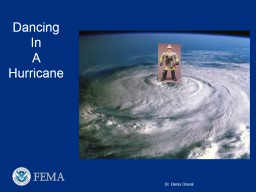 Dancing In A Hurricane Data