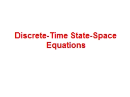 Discrete-Time State-Space