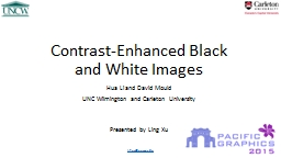 Contrast-Enhanced Black and White Images