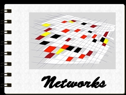 Networks Terms PowerPoint PPT Presentation