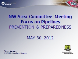 NW Area Committee Meeting