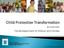 Child Protection Transformation