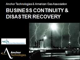 Business Continuity & Disaster Recovery PowerPoint PPT Presentation