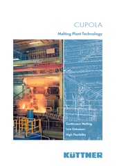 CUPOLA Melting Plant Technology Continuous Melting Low