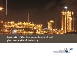 Portrait of the German  chemical