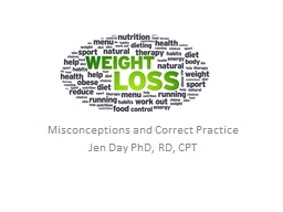 Misconceptions and Correct PowerPoint PPT Presentation