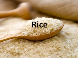 Rice Types of Rice Brown Rice