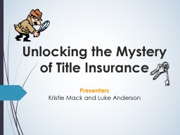 Unlocking the Mystery of Title