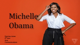 Michelle Obama Desirae Jones