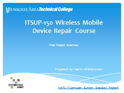 ITSUP-150 Wireless Mobile