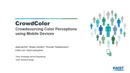 Crowdsourcing  Color Perceptions