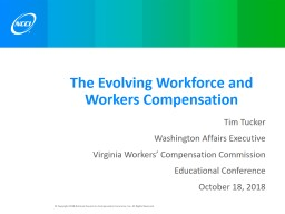 The Evolving Workforce and Workers Compensation