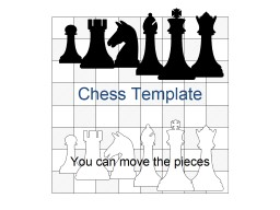 Chess Template You can move the pieces