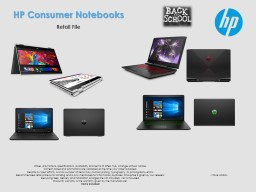 HP Consumer Notebooks Retail