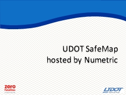 UDOT  SafeMap hosted by