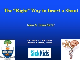 The Hospital for Sick Children PowerPoint PPT Presentation