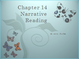 Chapter 14 Narrative Reading
