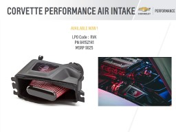 CORVETTE PERFORMANCE AIR INTAKE